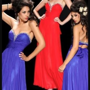 Gorgeous royal blue prom dress!!!